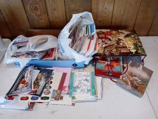 Mega lot Of Assorted Cards And Other Stationary