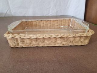 Fire King Ovenware With Serving Basket
