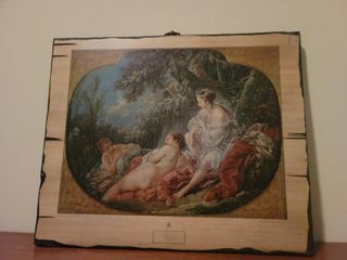 Reproduction of Twin Print No  499   Boucher   Summer
