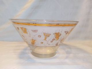 Mid Century Party Bowl