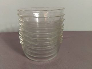 lot of 8 Small Glass Pyrex Bowls