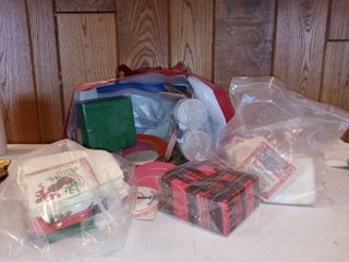 lot Of Mid Century Bar Napkins And Other Accessories