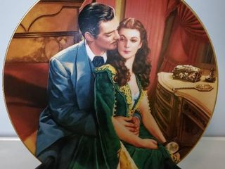 Gone with the Wind  Dreams of Ashley  by Paul Jennis Collectible Plate with Stand