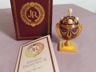 Imperial Treasures by Joan Rivers Series 2   The Third Egg in Series The lost Treasure Egg