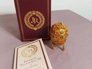 Imperial Treasures by Joan Rivers Series 3   The Second Egg in Series The Coronation Egg