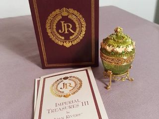 Imperial Treasures by Joan Rivers Series 3   The Third in Series The Hidden Timepiece Egg