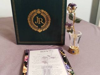 Imperial Flowers by Joan Rivers   Second in Series   Pansy