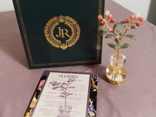 Imperial Flowers by Joan Rivers   Sixth and Final in Series   Cranberry
