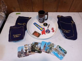 lot Of Assorted Bar And Home Knick Knacks