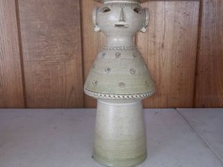 Vintage Haeger Maglio Pottery Candle Holder In Excellent Condition