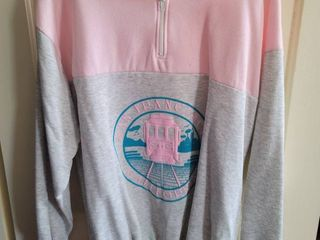 San Francisco Pink Pull Over Hoodie Xl