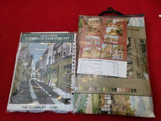 lot of 2 Complete Tapestry Kit and British Collection
