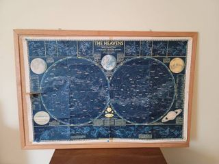 The Heavens Poster on Bulletin Board