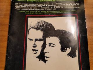 Songs By Paul Simon Featured By Simon And Garfunkel Vintage Sheet Music Songbook