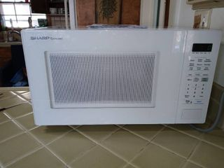 Sharp Carousel Microwave Oven Tested And Working