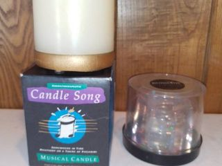 Aromatherapeutic Musical Candle and Gemstone Gel Candle