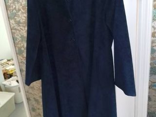 Gino Rossi for Wilson Ultrasuede Trench Coat Size 12