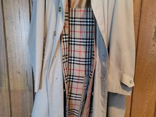 Burberry Mens Trench Coat with Plus liner Size 52 Regular