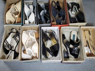 lot of 10 Pairs of Woman Shoes