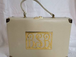 Meyers leather Beige Womans Briefcase