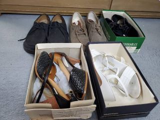 lot of 5 Pairs of Woman Shoes 8 5