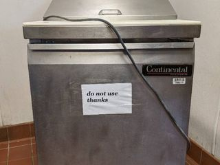 Continental Refrigerated Prep Table SW27 8