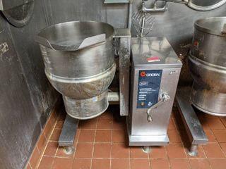 Groen 20 Gallon Steam Kettle Manual Tilt DEE 4 20