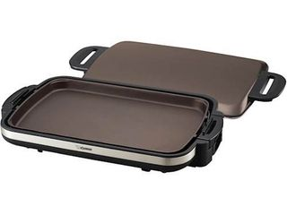 Gourmet Sizzler Electric Griddle  Stainless Brown
