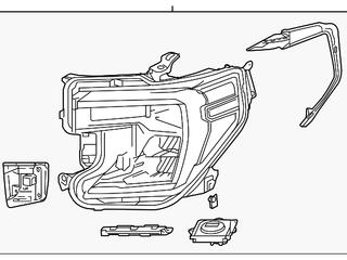 Headlight Assembly   GM  84388631