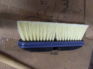 Scrub Broom with Wooden Handle