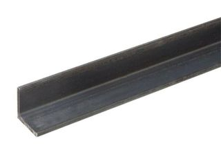 Everbilt 2 in  x 72 in  Angle Plain Steel with 1 8 in  Thick