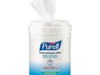 PUREllAr  GOJ903106  Alcohol Hand Sanitizing Wipes  1 Each  White