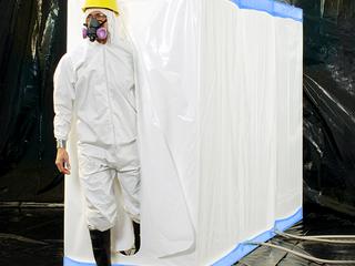 D Con Blue   77  Disposable Decontamination Shower  amp  Airlock Enclosure Retails   299