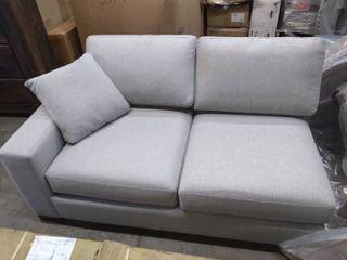 Grey 2 Cushion lounge Sofa