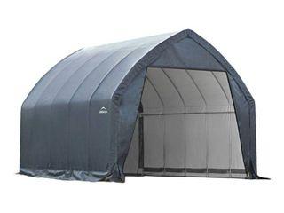Garage   In   A   Box 13  X 20  X 12 Peak Style For Suv  Truck   Gray   Shelterlogic  Grey