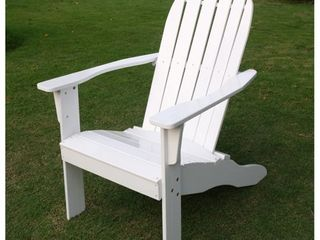 Cambridge Casual Alston Adirondack Chair with Tray Table   Retail   94 99