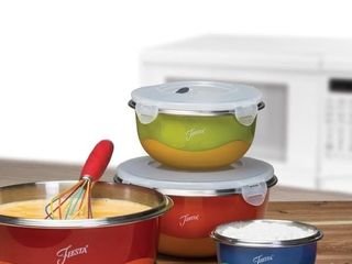 Fiesta 8 Piece Microwave Safe Mixing Bowl Set   Retail   57 67