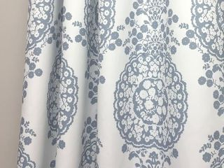The Curated Nomad Alameda Pastel Damask Room Darkening Curtain Panels  Pair   Retail   65 94