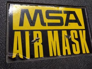 MSA AIRMASK SYSTEM IN CASE