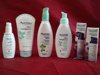 Aveeno   lot of 6 items