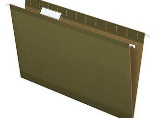 Pendaflex Reinforced Hanging Folders  legal Size  Standard Green  1 5 Cut  25 BX  4153 1 5