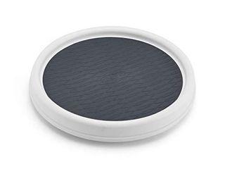 Copco Non Skid Pantry Cabinet  9 Inch  White Gray