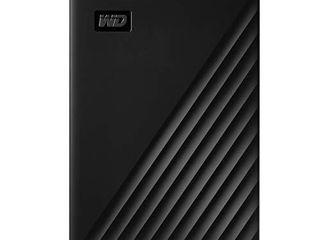 WD 5TB My Passport Portable External Hard Drive  Black   WDBPKJ0050BBK WESN