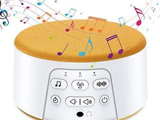 By Heart White Noise Machine for Sleeping  Sleep Sound Machine with 29 Soothing Natural Sounds  Timer   Memory Feature  Suitable for Baby   Adults  Home  Office