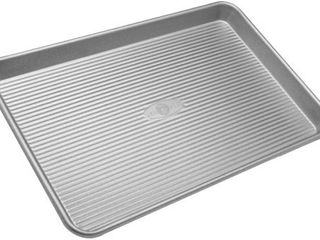 USA Pan Bakeware Half Sheet Pan  Warp Resistant Nonstick Baking Pan  Made in the USA from Aluminized Steel
