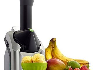 Yonanas Classic Original Healthy Dessert Fruit Soft Serve Maker  200 Watt  Silver