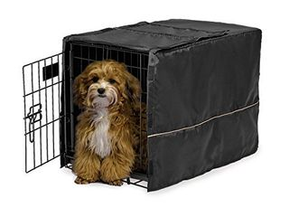 MidWest Dog Crate Cover  Privacy Dog Crate Cover Fits MidWest Dog Crates  Machine Wash   Dry