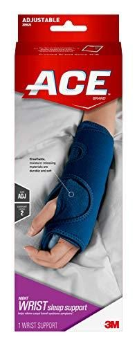 ACE   209626 Night Wrist Sleep Support  Helps relieve symptoms of Carpal Tunnel Syndrome