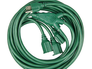 40FT MUlTI DIRECTIONAl OUTDOOR EXTENSION CORD