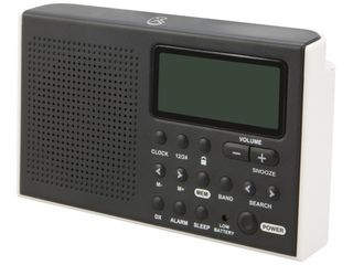 GPX R616W Portable 6 Band Shortwave AM FM Radio